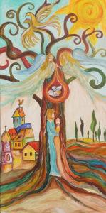 életfa festmény