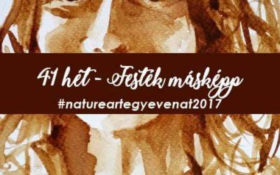 2017 41 hét FESTÉK MÁSKÉPP-natureart egy éven át