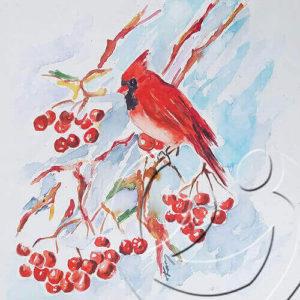 017152cardinalandberries