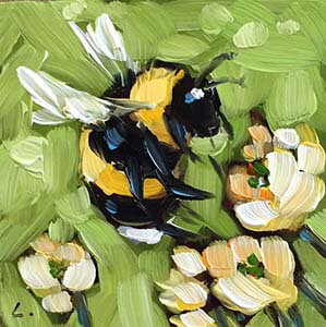 beepainting4 by Andrea Lavery