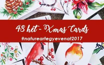 2017 48 hét XMAS-CARDS-natureart egy éven át