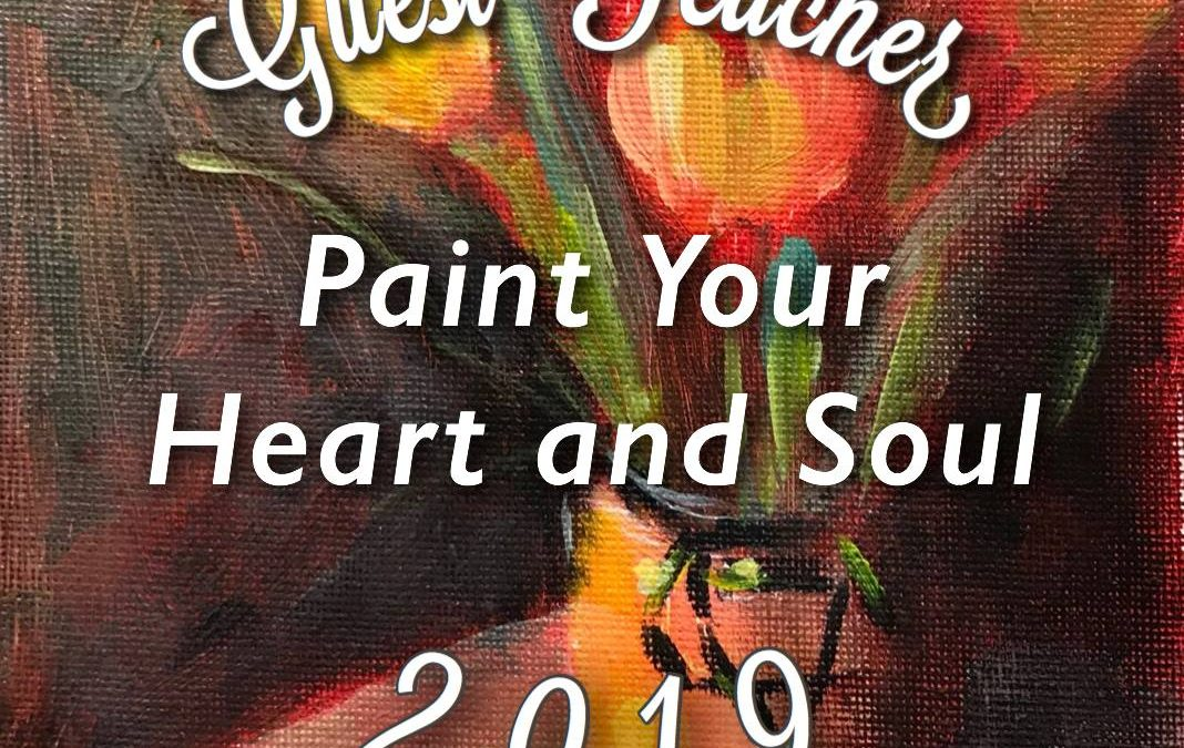 GIVEAWAY TIME! Paint Your Heart and Soul 2019 Registration is now open!