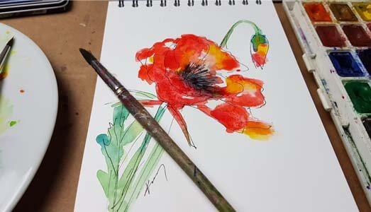 poppies 3 videokepe