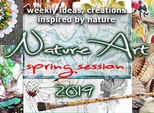 NATUREART 2019 SPRING 3 month long online workshop