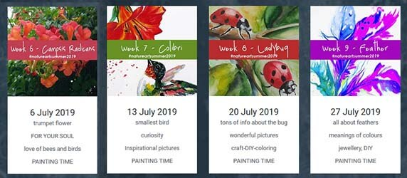 NATUREART SUMMER  – second month