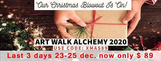 ART WALK ALCHEMY 2020 LAST 3 DAYS