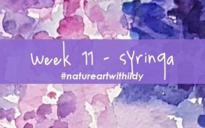 NATUREART SPRING week 11 SYRINGA