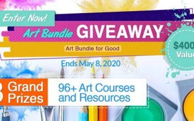 ART BUNDLES FOR GOOD 4 is BACK GIVEAWAY!