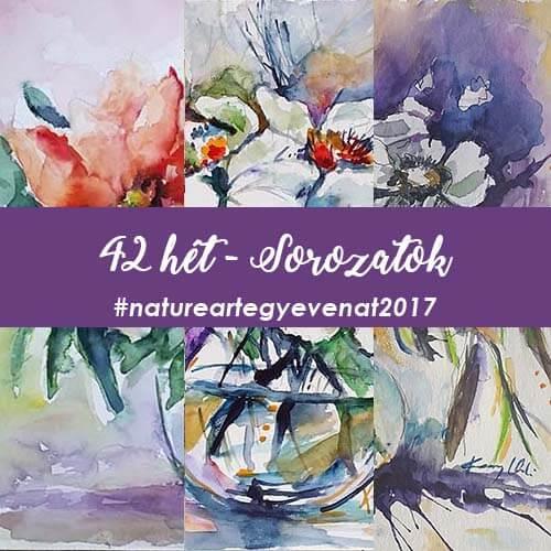 2017 42 hét SOROZATOK-natureart egy éven át