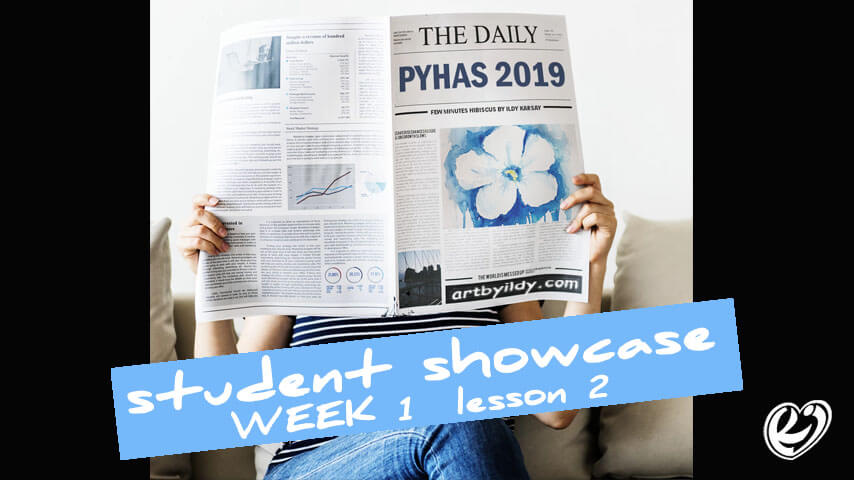 PYHaS2019 student celebration showcase video lesson2 hibiscus