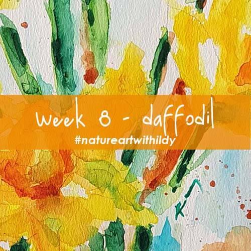 NATUREART SPRING week 8 DAFFODIL