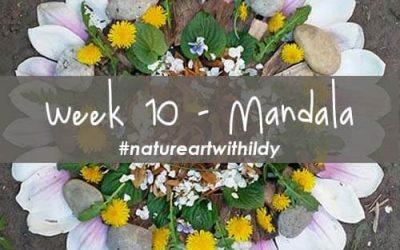 NATUREART SUMMER week 10 MANDALA