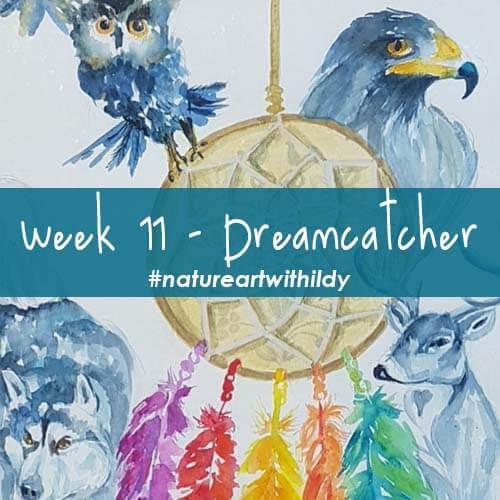 NATUREART SUMMER week 11 DREAMCATCHER