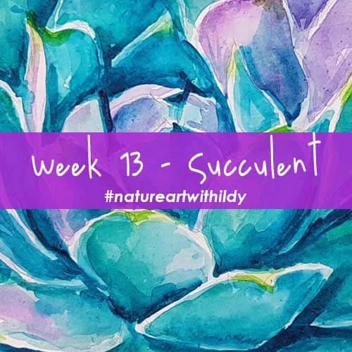 NATUREART SUMMER week 13 Succulent