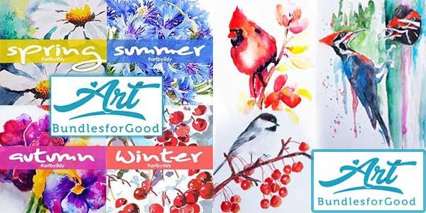 ART BUNDLES FOR GOOD 4 is BACK  for 3 DAYS