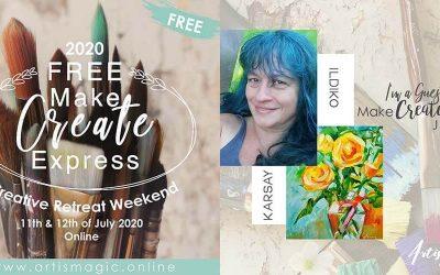 MAKE CREATE EXPRESS FREE WEEKEND 11-12 JULY