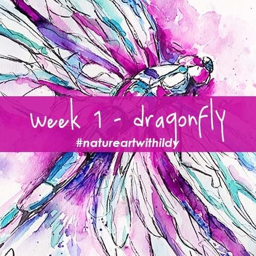NATUREART AUTUMN week 1 Dragonfly