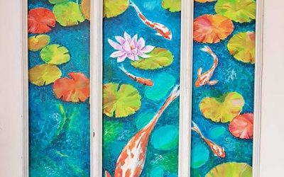 into the door – painting is born