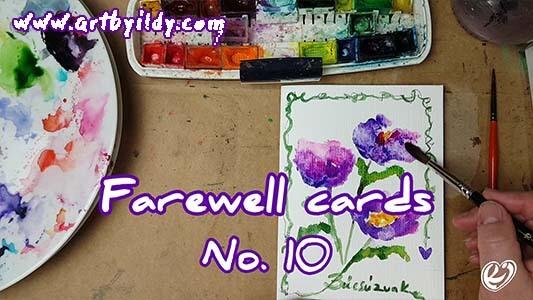 FAREWELL CARDS No 10