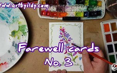 FAREWELL CARDS No 3