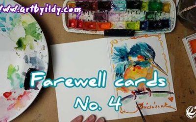 FAREWELL CARDS No 4