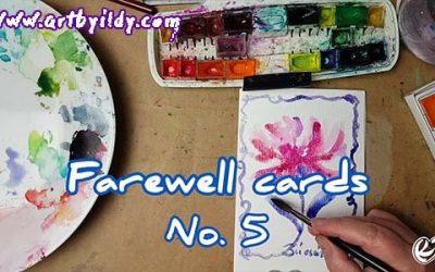FAREWELL CARDS No 5