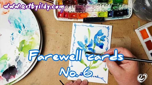 FAREWELL CARDS No 6