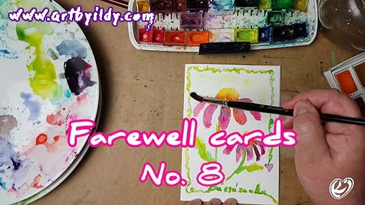 FAREWELL CARDS No 8